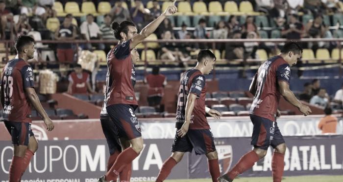 Celebración del primer gol de la noche // Foto: Atlante FC