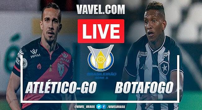 Atlético-GO x Botafogo AO VIVO (0-0)