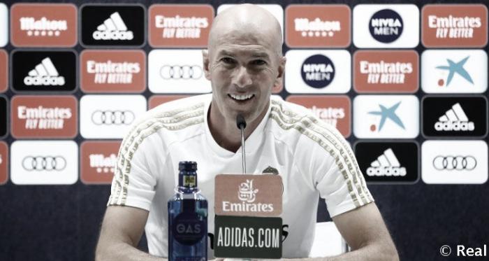 """Zidane elogia esforço do Real Madrid após vitória dura contra Getafe: """"Equipe é muito sólida"""""""
