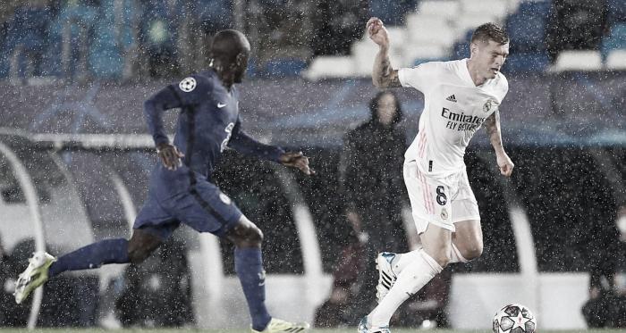 El Madrid sobrevive al 'diluvio'
