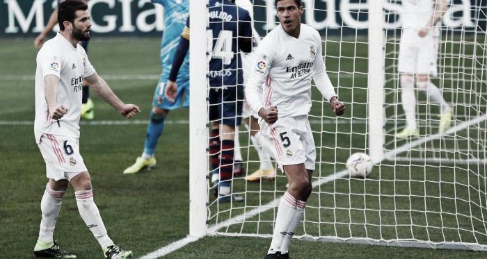 "Varane: ""Vamos a acabar la temporada luchando como siempre"""