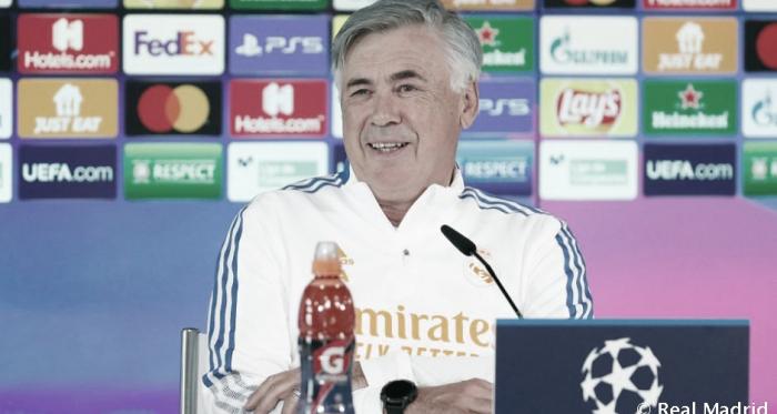 """Ancelotti: """"Si me toca empujar, Lucas en ese sentido es el mejor""""."""