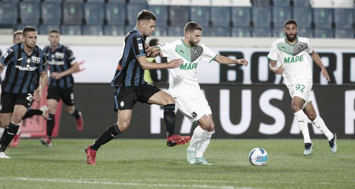 Com gols no primeiro tempo, Atalanta vence Sassuolo e encosta nos primeiros colocados da Serie A