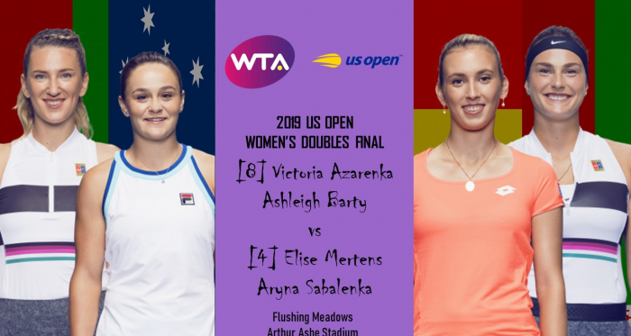 It will be an intriguing clash in the women's doubles final   Edit: Don Han/VAVEL USA