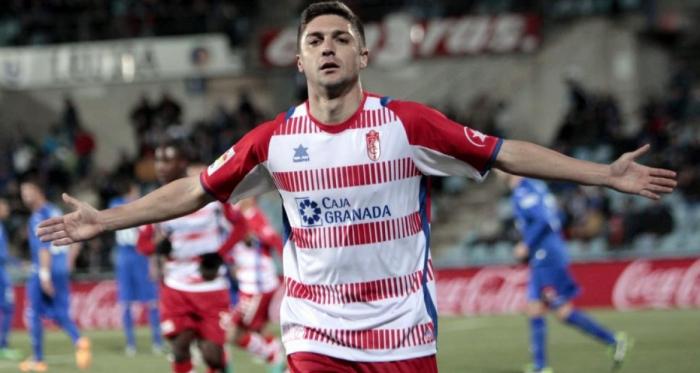 Guilherme Siqueira fue un jugador muy querido en Granada. Foto: Granada CF