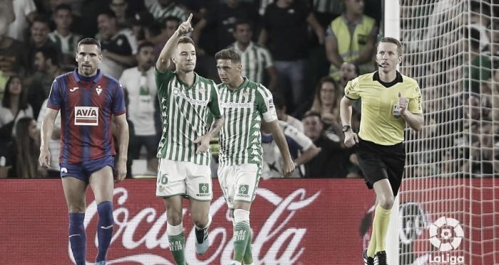 Loren tras su gol en la última jornada | Foto: LaLiga Santander