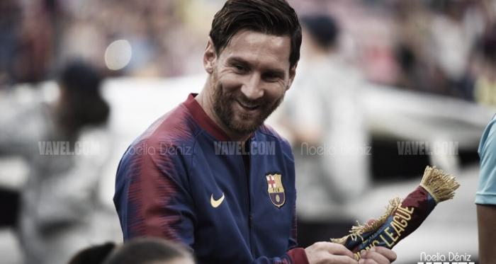 Leo Messi en un partido de la UEFA Champions League   Foto de Noelia Déniz, VAVEL