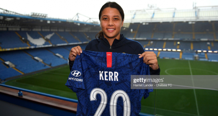 Kerr will wear the number 20 for the blues - Photo by Harriet Lander - Chelsea FC/Chelsea FC via Getty Images