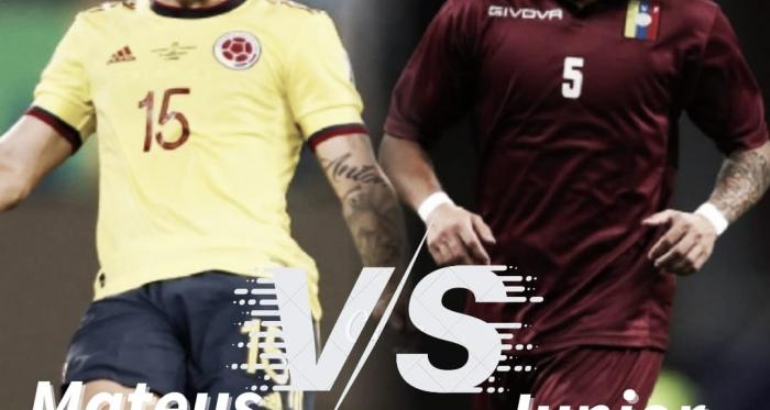 Cara a cara: Mateus Uribe vs Junior Moreno