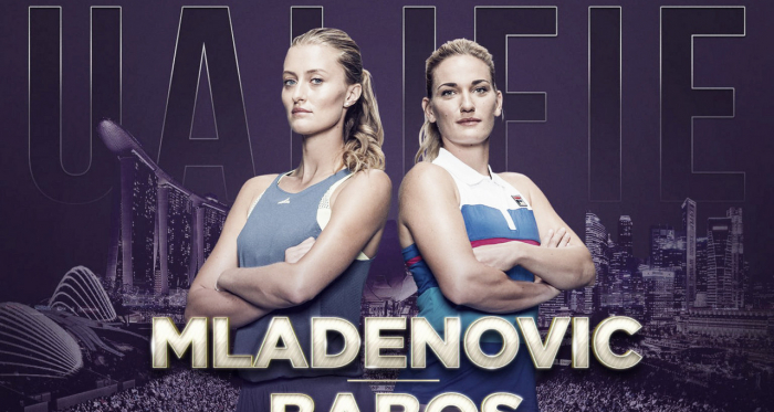Babos and Mladenovic will be vying for the title in Singapore | Photo: WTA