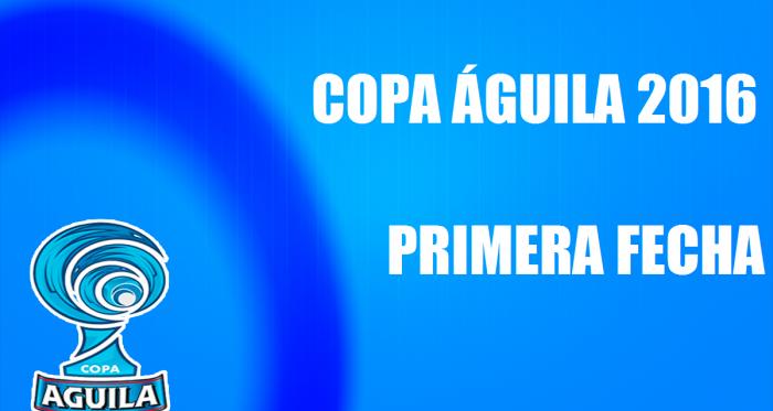 Definidos los horarios de la primera fecha de la Copa Águila