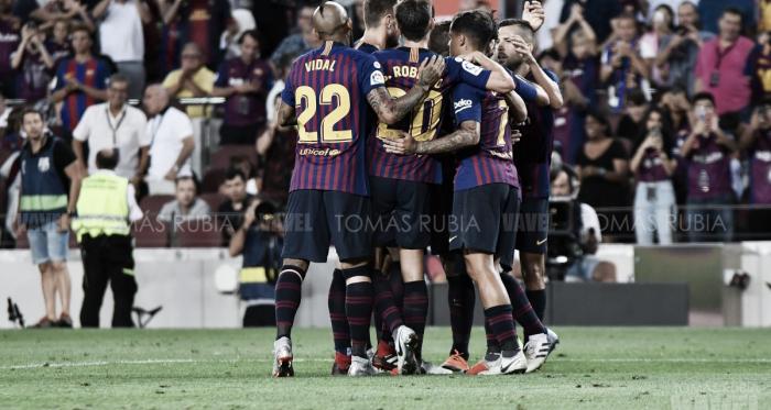 El Barça superó el trámite