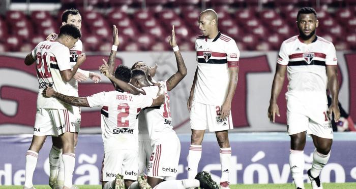 São Paulo goleia Mirassol e é finalista do Campeonato Paulista