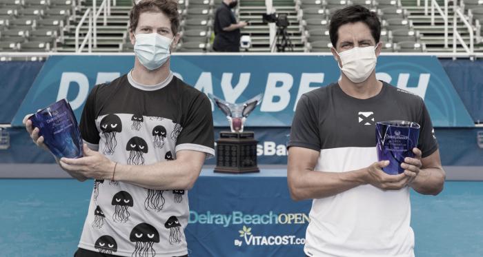 Behar y Escobar se quedaron con el título en Delray Beach