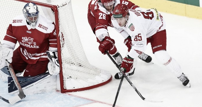Denmark loses in an upset to Belarus in 2018 Winter Olympics qualifier