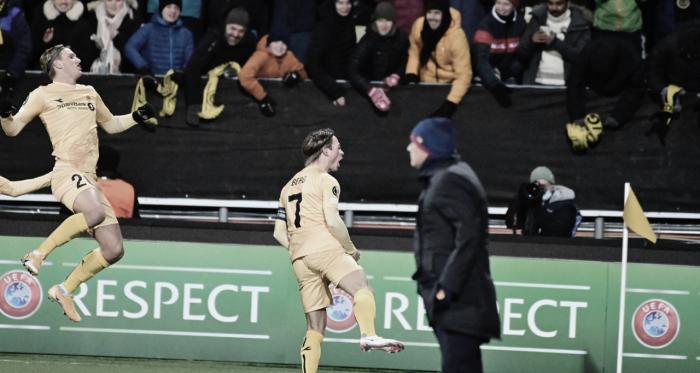 Roma é goleada pelo Bodø/Glimt e perde liderança do Grupo C