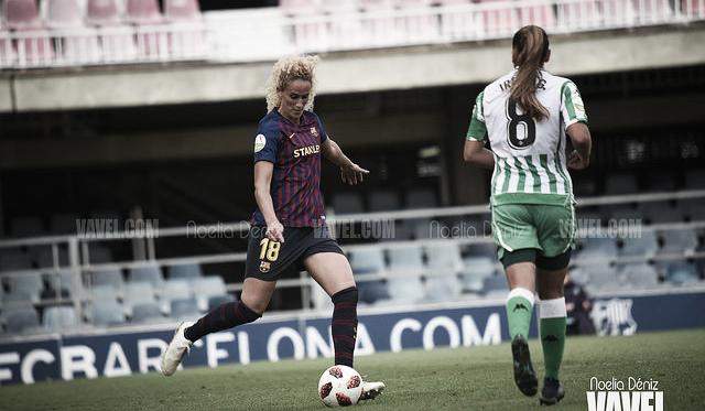 Foto de archivo del partido de la primera vuelta entre Barça y Betis. FOTO: Noelia Déniz