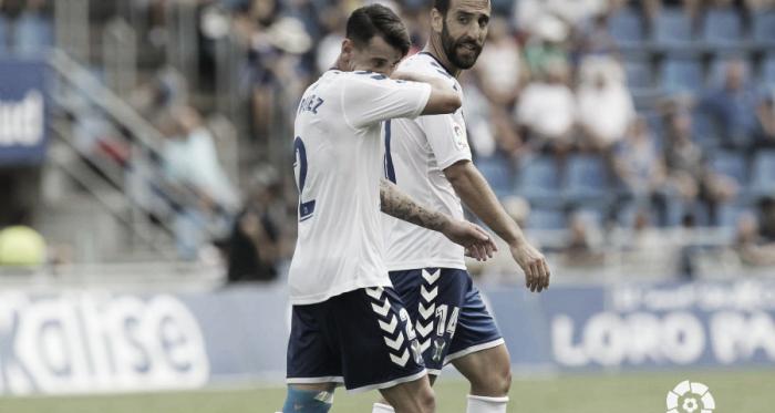 Jugadores del Tenerife resignados | Foto: LaLiga