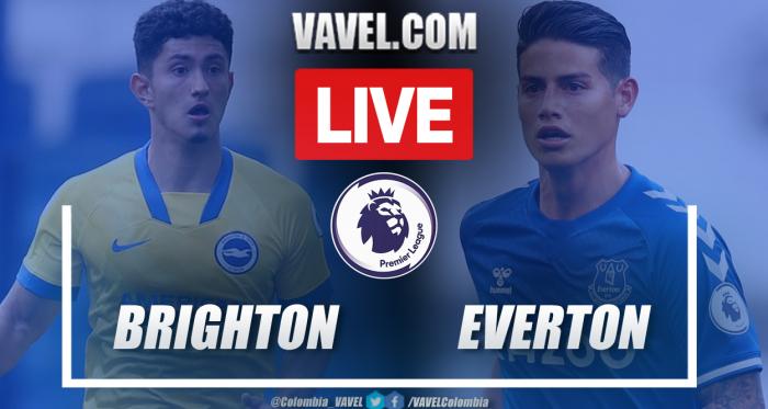 Resumen Brighton vs Everton (0-0) en la fecha 31 por Premier League 2020-21