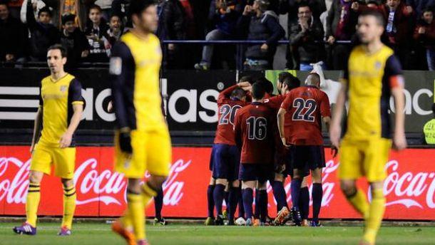 Atlético de Madrid joga mal e é goleado pelo Osasuna