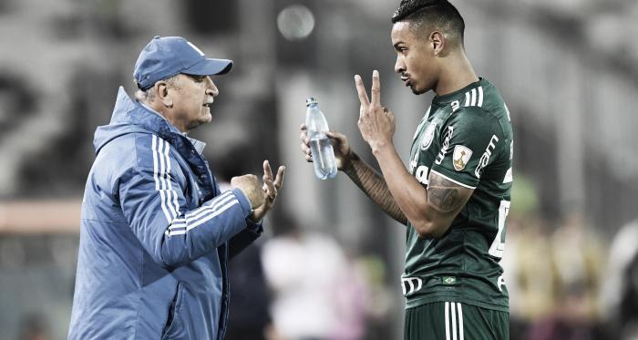 """Felipão enaltece vitória do Palmeiras, mas pede pés nos chão: """"Vamos respeitar o Colo-Colo"""""""