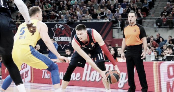 El efecto Garino lleva a Baskonia a los 'playoffs' de Euroliga.   Foto: Baskonia