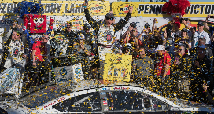 Happy Harvick Wins at Las Vegas Motor Speedway (Brandon Farris - VAVEL USA)