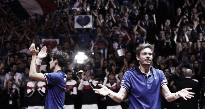 Gran triunfo del dobles francés. Imagen: EFE