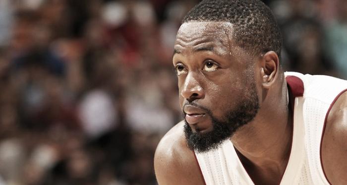 Wade, con la camiseta de los Heat que ha vestido durante 13 años. (Fuente: nba.com).