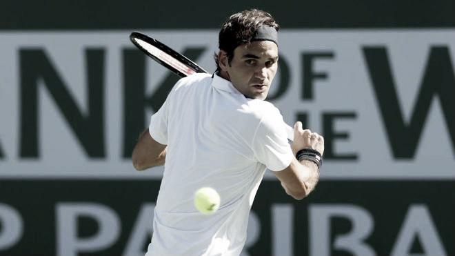 """Federer """"Estoy con patrones limpios de juego"""" Imagen: @ATPWorldTour"""