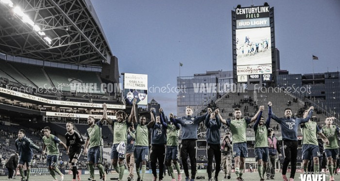 Seattle Sounders exercise contract options on 11 players