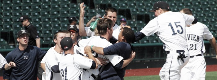Xavier's run to the brink of the Super Regionals is the latest reason why the nation should pay attention to Big East baseball. Photo courtesy of goxavier.com