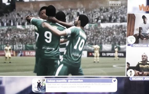 Primer partido de la eLiga Dimayor, dejó goleada a favor de Equidad