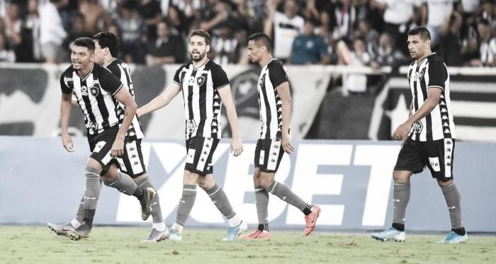 Igor Cássio marcou o gol da vitória do Botafogo (Foto: Reprodução / Botafogo)