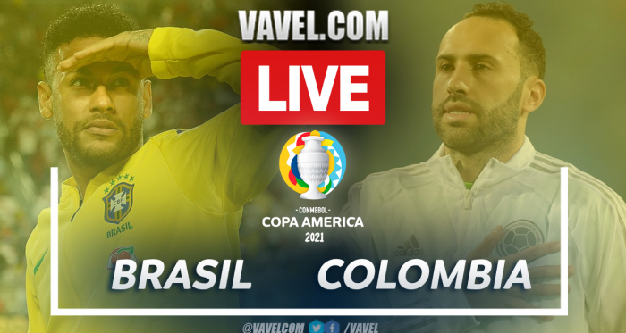 Brazil vs Colombia Live Stream, Score Updates and How to Watch Copa America Match