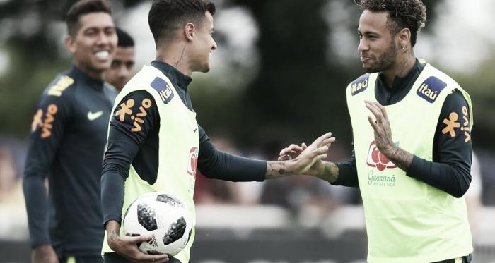 Neymar, Coutinho e Firmino são alguns dos brasileiros na lista (Reprodução / CBF)