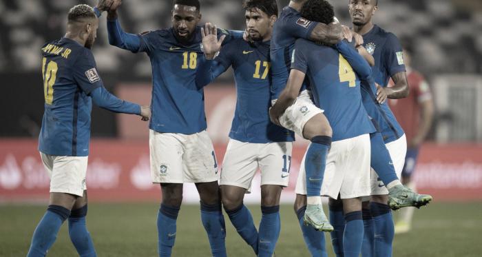 Brasil y un triunfo con mucho trabajo