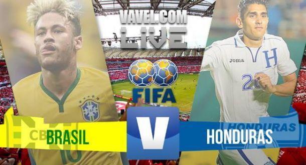 Resultado Brasil x Honduras no amistoso 2015 (1-0)