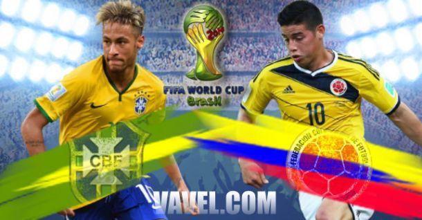 Brésil-Colombie : La Seleção pourra-t-elle se défaire des Cafeteros de James ?
