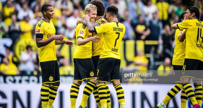 Borussia Dortmund celebrate (Getty Images/Lukas Schulze/Bundesliga)