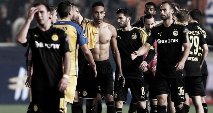 Il Dortmund ospita l'APOEL: sapore di spareggio per l'Europa minore   Foto: RP Online