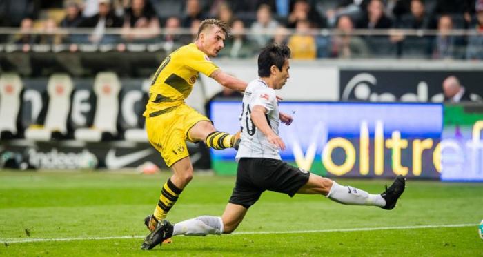 Bundesliga - Test europeo tra Eintracht Frankfurt e Borussia Dortmund nella cornice del Tempel | Twitter Borussia Dortmund