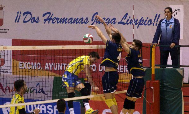 Fundación Cajasol Juvasa consigue arrebatarle la victoria  su rival con un gran 3-0