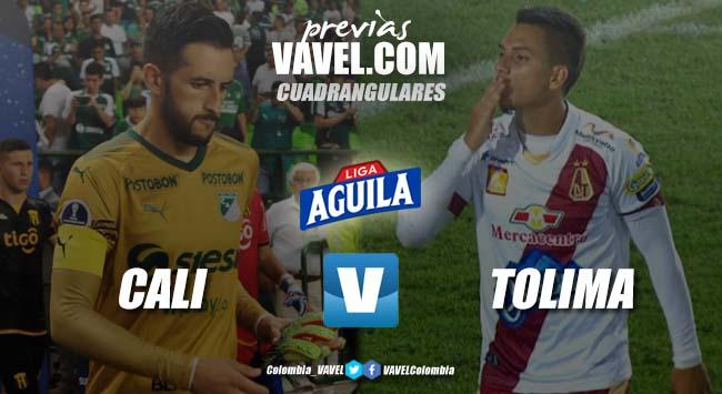 Previa Deportivo Cali vs Deportes Tolima: partido vibrante para cerrar el cuadrangular