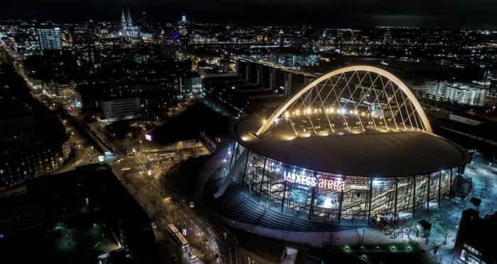 Escenario de la Final Four 2020 LanXess arena / @EuroLeague