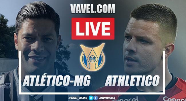 Gols e melhores momentos Atlético-MG x Athletico-PR pelo Campeonato Brasileiro 2021 (2-0)
