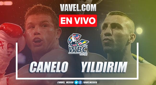 Resumen y mejores momentos de la victoria por nocaut técnico de Canelo Álvarez ante Avni Yildirim en Box 2021