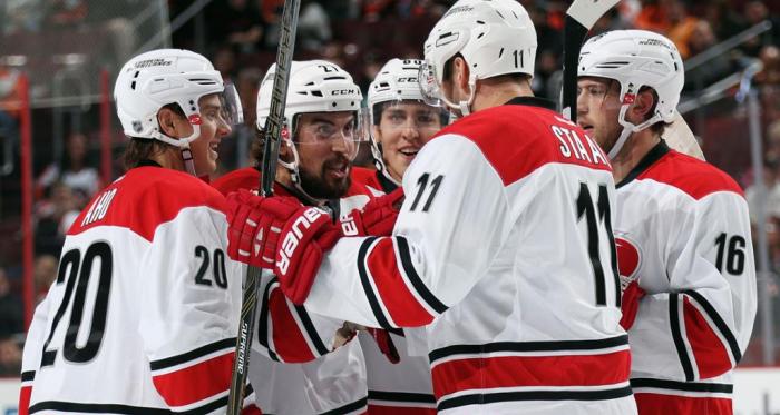 Will there be postseason celebrations in Carolina? (Photo: NHL.com)