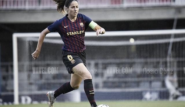 Imagen de archivo de Losada, jugadora del FC Barcelona. FOTO: Noelia Déniz