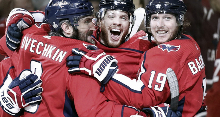 The Washington Capitals are one game from hoisting the Cup. (AP Photo/Alex Brandon)